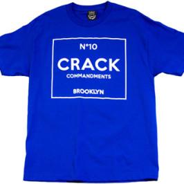 10 CRACK COMMANDMENTS | Men's T-Shirt