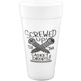 Algierz | Screwed Up - Styrofoam Cup