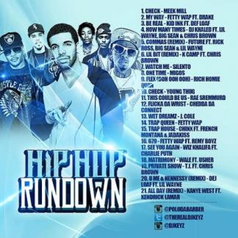 Hip Hop Rundown   Various Artists - DJ Keyz Mixtape