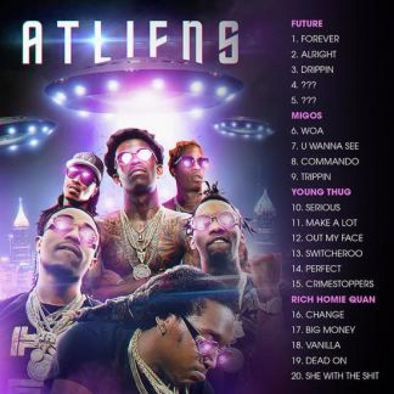 ATLiens | Future, Migos, Young Thug, Rich Homie Quan - DJ