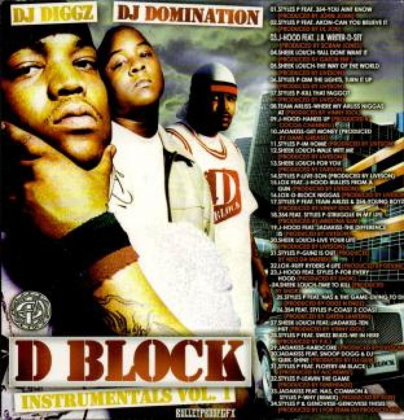 D-Block Instrumentals   DJ Diggz & DJ Domination