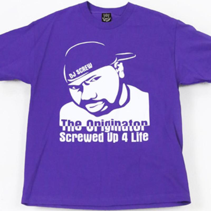 The Originator | Screwed Up 4 Life (R I P  DJ Screw) - Men's T-Shirt