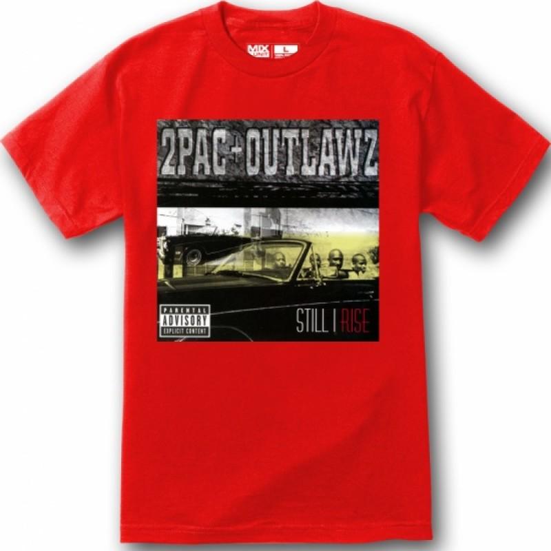 2PAC OUTLAWZ STILL I RISE | Men's T-Shirt