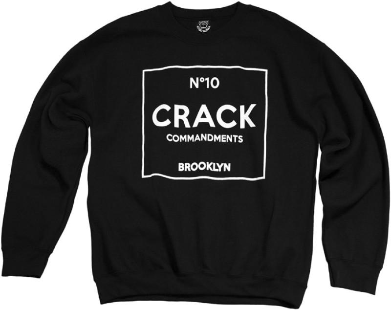 10 CRACK COMMANDMENTS | Crewneck Sweatshirt